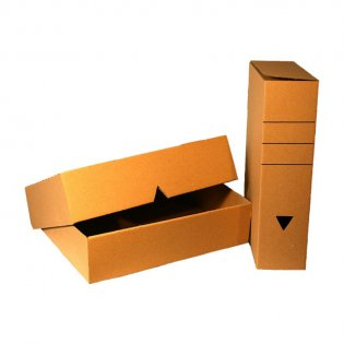 Archivbox 250 x 83 x 320 mm (braun)